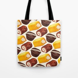 Hostess Cake Pattern Tote Bag