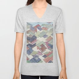 Roof in the wind Unisex V-Neck