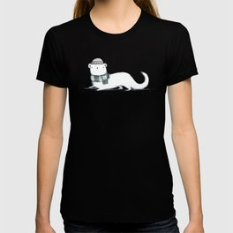 Ermine in Hat & Scarf T-shirt