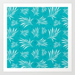 Island Breeze Aqua Art Print