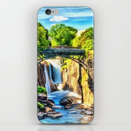 Paterson Great Falls in National Historical Park iPhone Skin