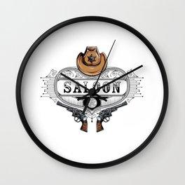 Saloon Wall Clock