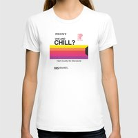 chill T-shirts featuring VHS and Chill by Anthony Troester