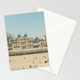 The City Hall and The Beach Stationery Cards
