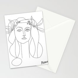 War and Peace by Pablo Picasso Stationery Cards