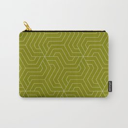 Olive - green - Modern Vector Seamless Pattern Carry-All Pouch