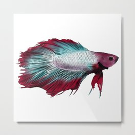 Betta Than You Metal Print