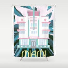 Miami Landmarks - McAlpin Shower Curtain
