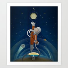 Space is the place Art Print