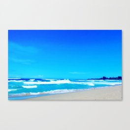 Carribean Coast Canvas Print