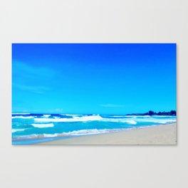 Carribean Coast Canvas Print