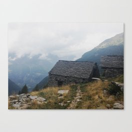 Valle Verzasca Canvas Print