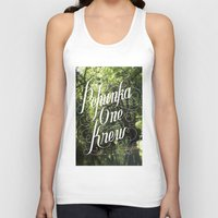 jungle Tank Tops featuring jungle by Geronimo Studio