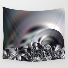 Complexity under smooth simplicity - Abstract play with focus Wall Tapestry