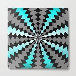 Maze Me Metal Print
