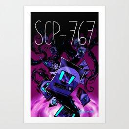 SCP-767 Art Print