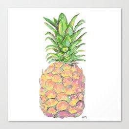Brite Pineapple Canvas Print