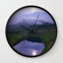 Mount Asahi Japan Wall Clock