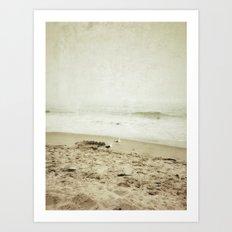 Ventura Beach, California Art Print