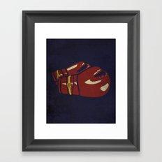 Power Boxing Framed Art Print