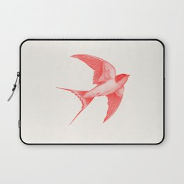 Barn Swallow (red) Laptop Sleeve