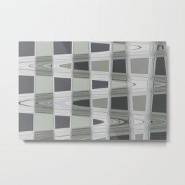 Silver Streak Metal Print