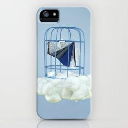 Cloud under prisoner bird iPhone Case