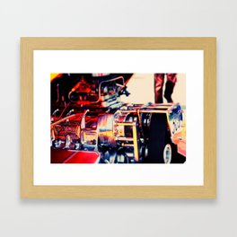 No. 509 Side View Framed Art Print
