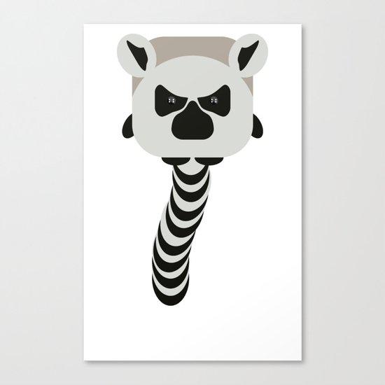 Chubby Lemur Canvas Print