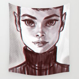 Audrey Wall Tapestry