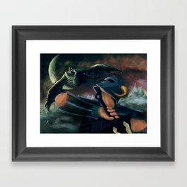dovahkiin Framed Art Print