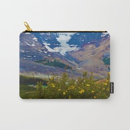 Athabasca Glacier in Jasper National Park, Canada Carry-All Pouch