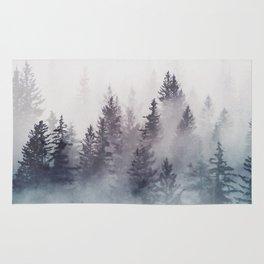Winter Wonderland - Stormy weather Rug