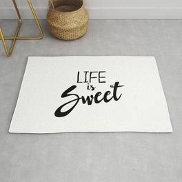 Life is Sweet Rug