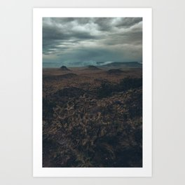 Cabazon Peak View Art Print