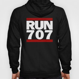 707 Design Run California Gifts 707 Shirt Hoody