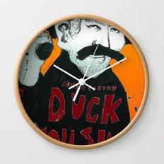 Duck you Sucker with James Coburn Wall Clock