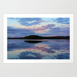 Catalone Sunset Art Print