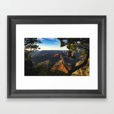 Grand Canyon National Park - Sunset Framed Art Print