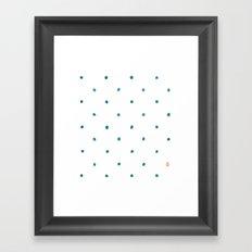 Dots Ahoy Framed Art Print