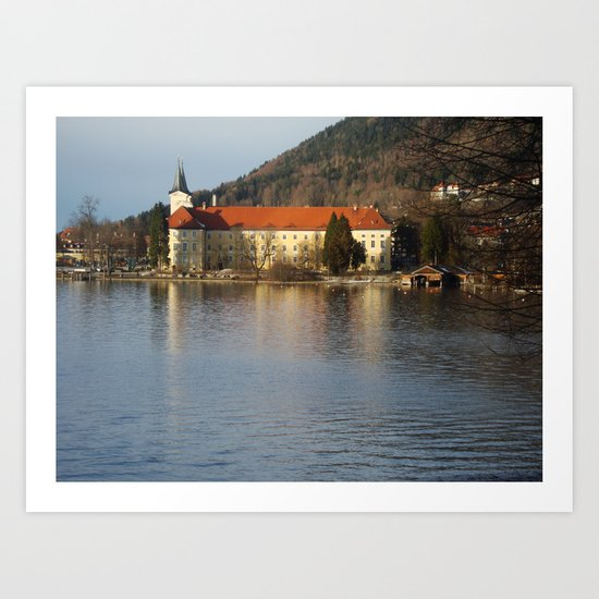 Tegernsee Germany Art Print