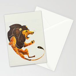 Lion 2 Stationery Cards