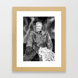 Lord Asrael Framed Art Print