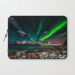 Aurora Borealis - Northern Lights - Twilight Laptop Sleeve