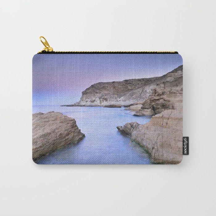 """""""Blue Volcano"""" Carry-All Pouch"""