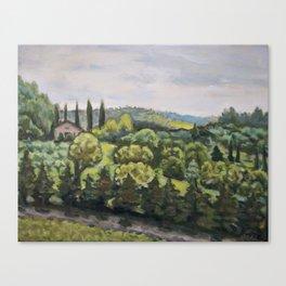 Afternoon San Fedele Canvas Print