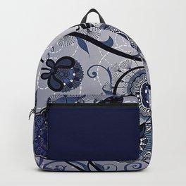 Denim Blues Backpack