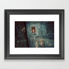 Seoul - Urban Street Decay Framed Art Print