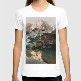 Lake Braies View T-shirt