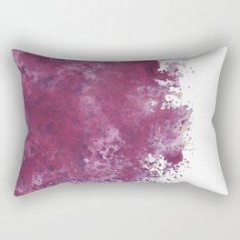 Colour Blotch Rectangular Pillow